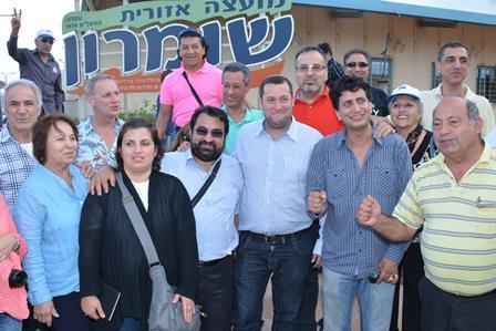 """גולים איראנים השבוע בשומרון: """"רוב הציבור האיראני בעד ישראל"""""""