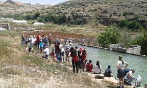 טיול בגוש עציון.צילום בית ספר שדה כפר עציון