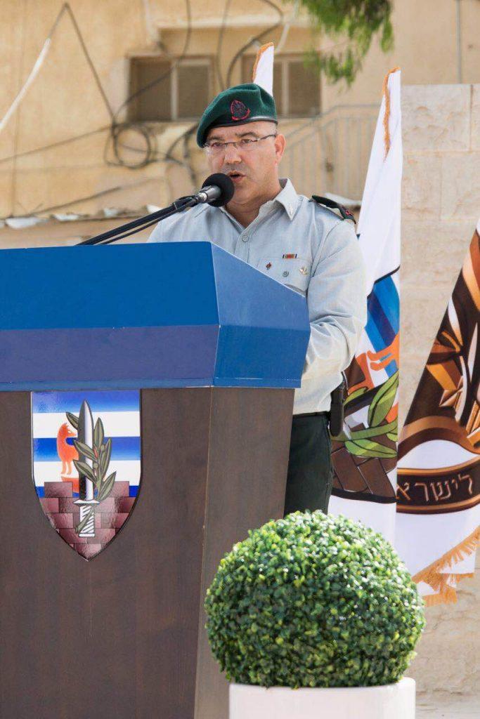 תת אלוף אחוות בן -חור נכנס לתפקיד ראש המנהל האזרחי ביהודה ושומרון