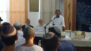 כנס הרבנים למען עמונה.צילום באדיבות: מטה המאבק בעמונה