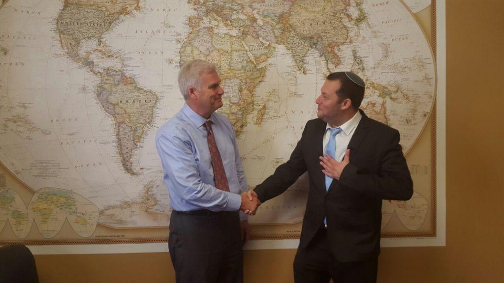 """ראש מועצת שומרון לחברי קונגרס בוושינגטון: """"הפעילו לחץ נגדי על הממשל בנושא בנייה ביו""""ש"""""""