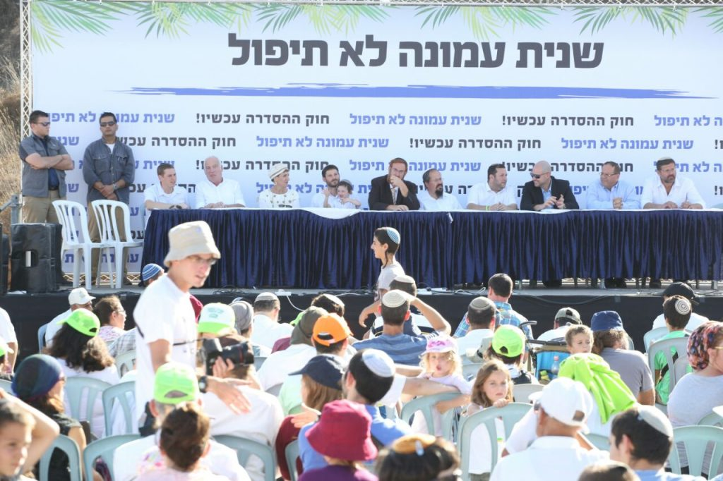 8,000 איש הגיעו לחזק את עמונה בחג הסוכות