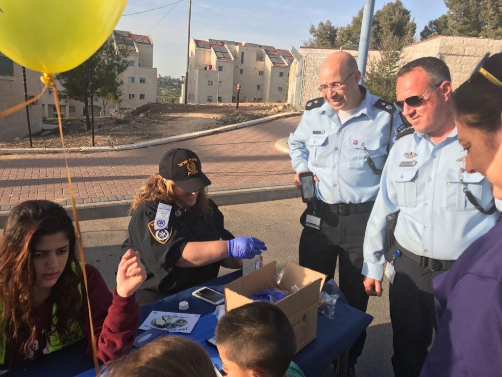 יום קהילה ומשטרה בקריית ארבע