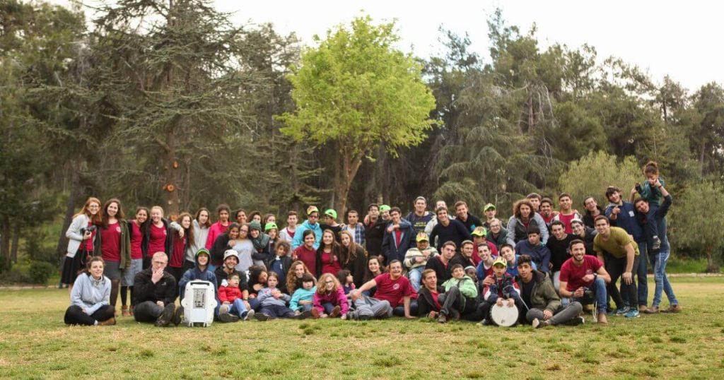 הנוער של רבבה בפרוייקט הדסטארט למען הילדים המיוחדים בשומרון