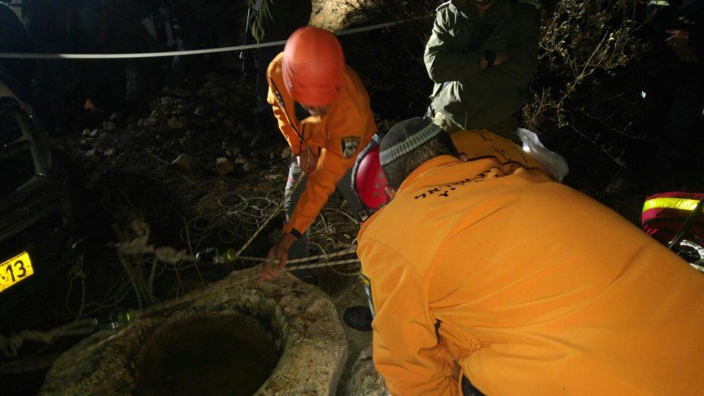 חילוץ בשומרון: נערה בת 14 חולצה מבור בעומק 8 מטר