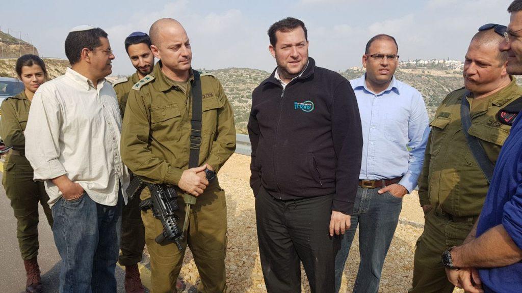 """נעצרה בניית הכביש הפלסטיני לאל-מתן: """"הרשות הפלסטינית ניסתה לכבוש ולסלול כביש בתוך שטח ישוב ישראלי"""""""
