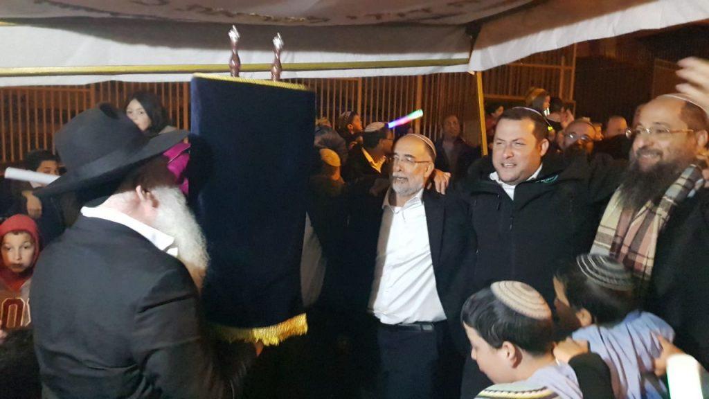 """הר ברכה: הכנסת ספר תורה לזכרו של איתמר בן גל הי""""ד"""