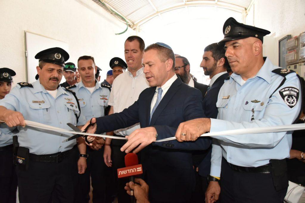 תחנת משטרה חדשה בחברון- תחנת יהודה, יוצאת לדרך