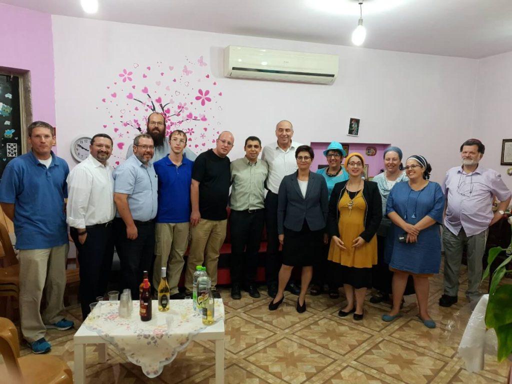 """יו""""ר חדש לסניף הבית היהודי בבנימין"""