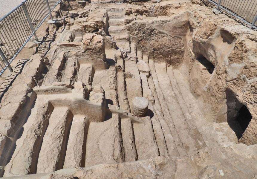 האתר הארכיאולוגי בתל חברון ייפתח מחדש לציבור
