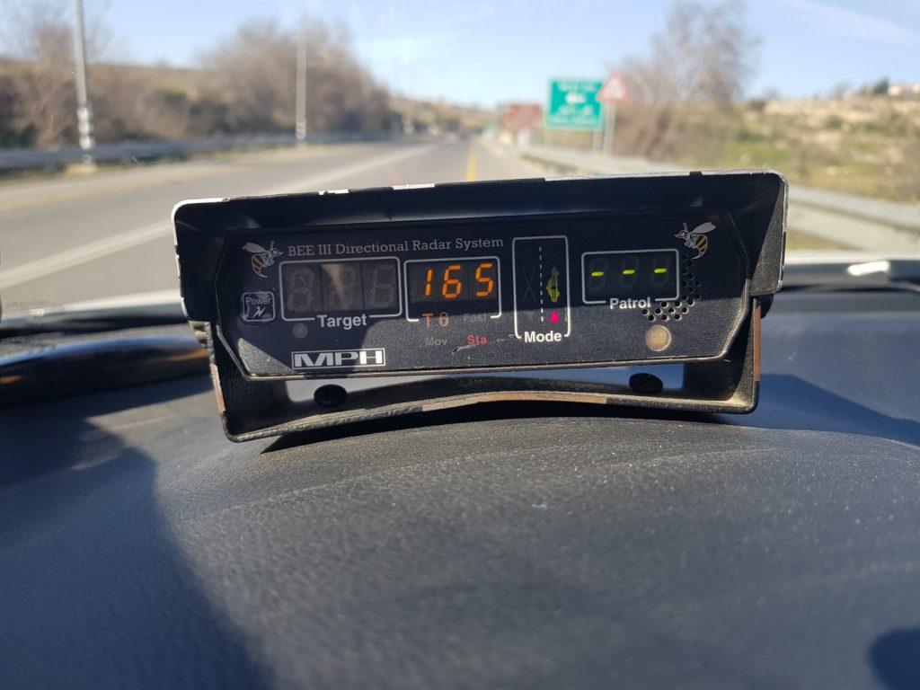 """סוף שבוע בכבישי יו""""ש: מספר נהגים נתפסו נוהגים במהירות כפולה ויותר מהמותר"""