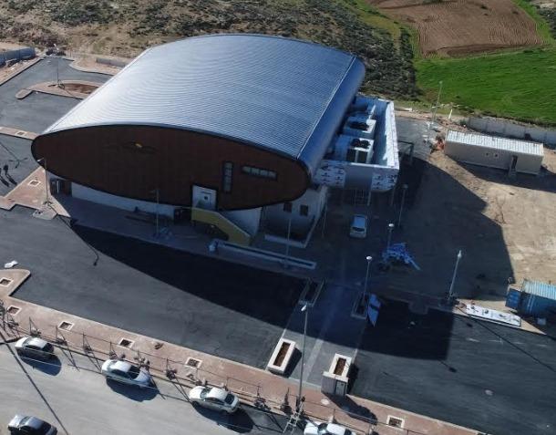 """1,744 מ""""ר, בהשקעה של 17 מיליון ש""""ח: נחנך אולם הספורט החדש ב""""מיתרים"""""""