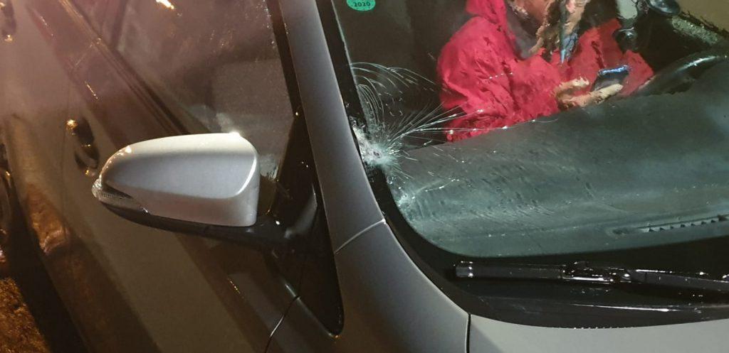 לקראת חצות בבנימין: יריות חוררו את הרכב – אין נפגעים