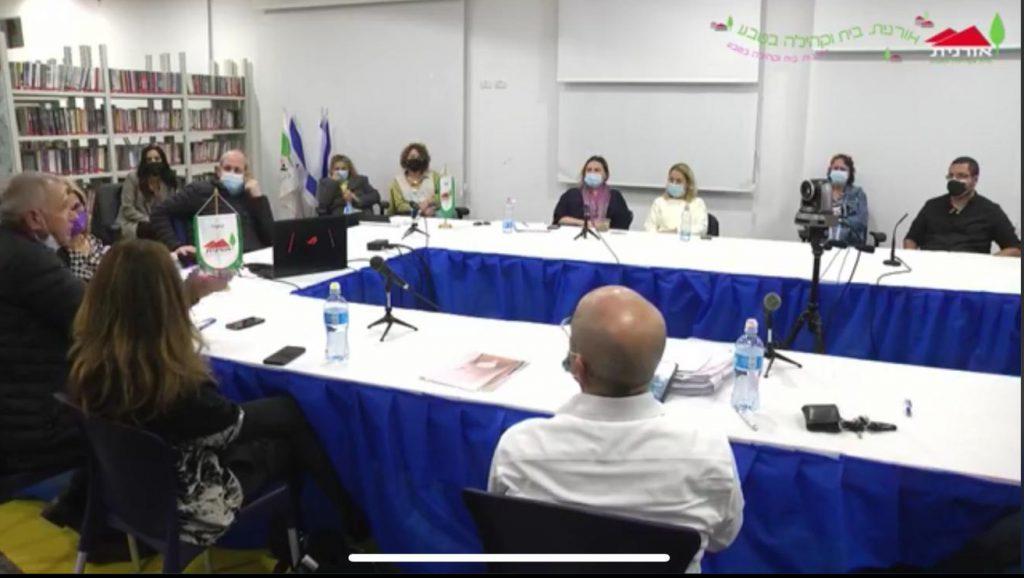 הוסר האיום בשביתה: מועצת אורנית תישאר במבנה המועצה הקיים