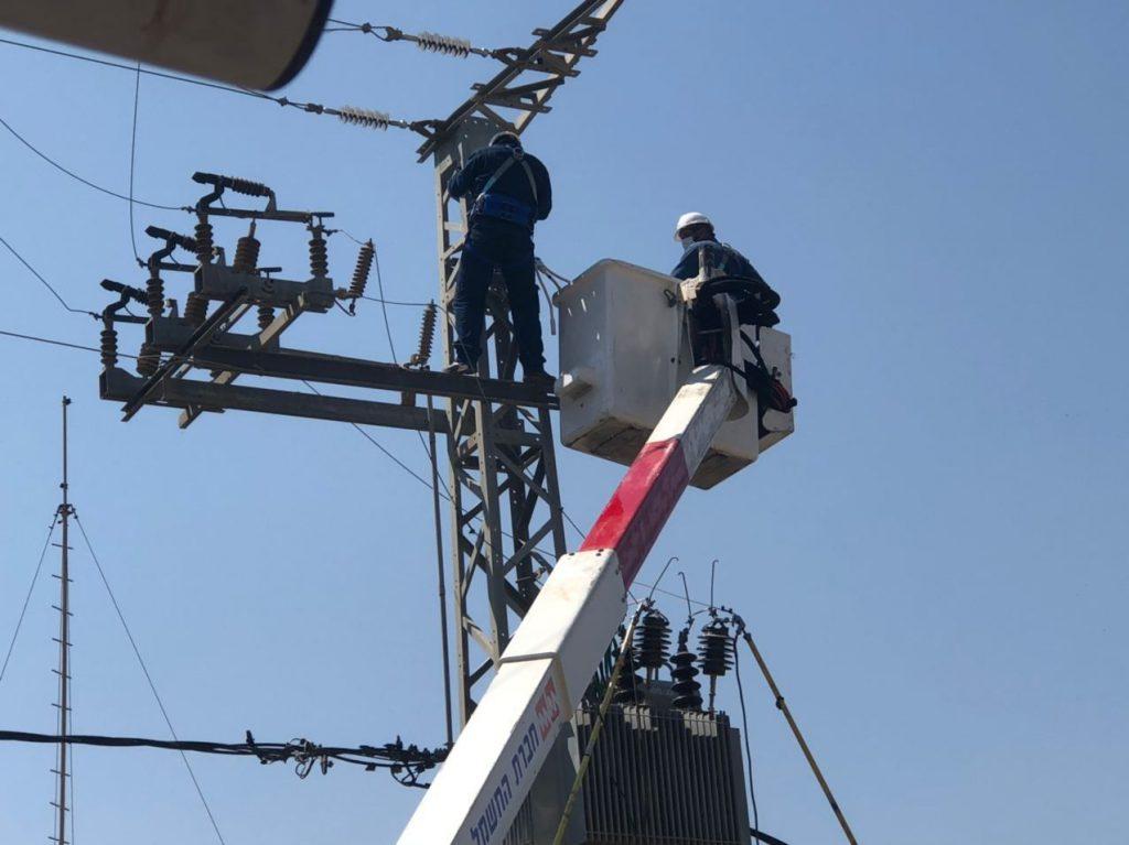 הסוף להפסקות החשמל? נחנכה תחנת משנה חדשה לחשמל באלפי מנשה