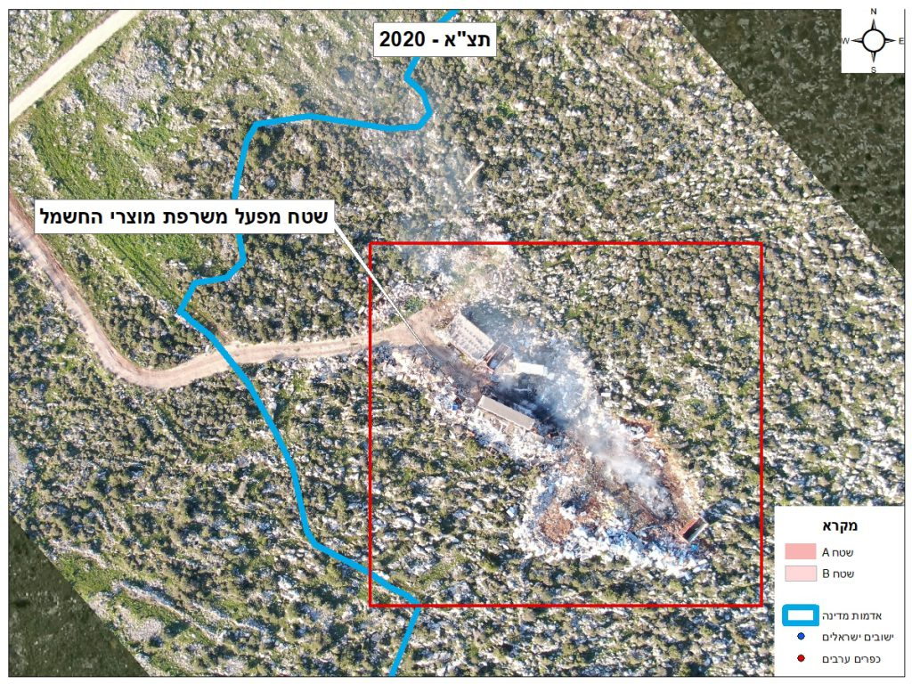 זהירות אוויר רעיל: שריפת הפסולת האלקטרונית מרעילה את אוויר השומרון