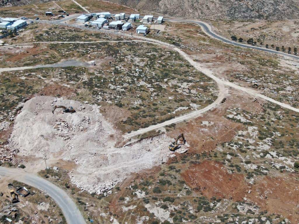 אחרי למעלה מ-20 שנה: שכונת קבע באיבי הנחל שבגוש עציון
