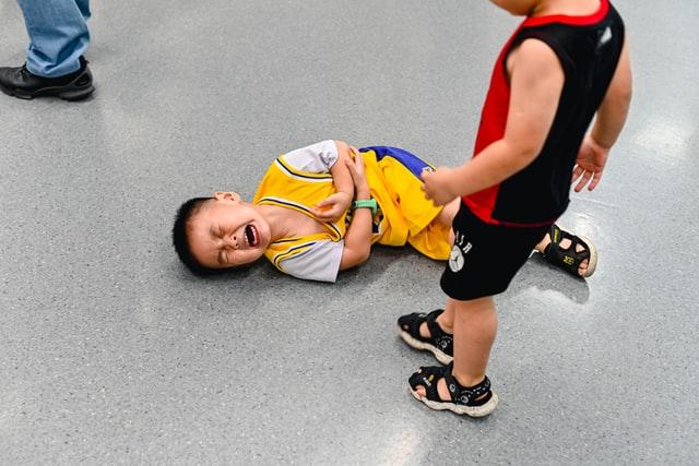 ילד נפצע בשטח בית הספר