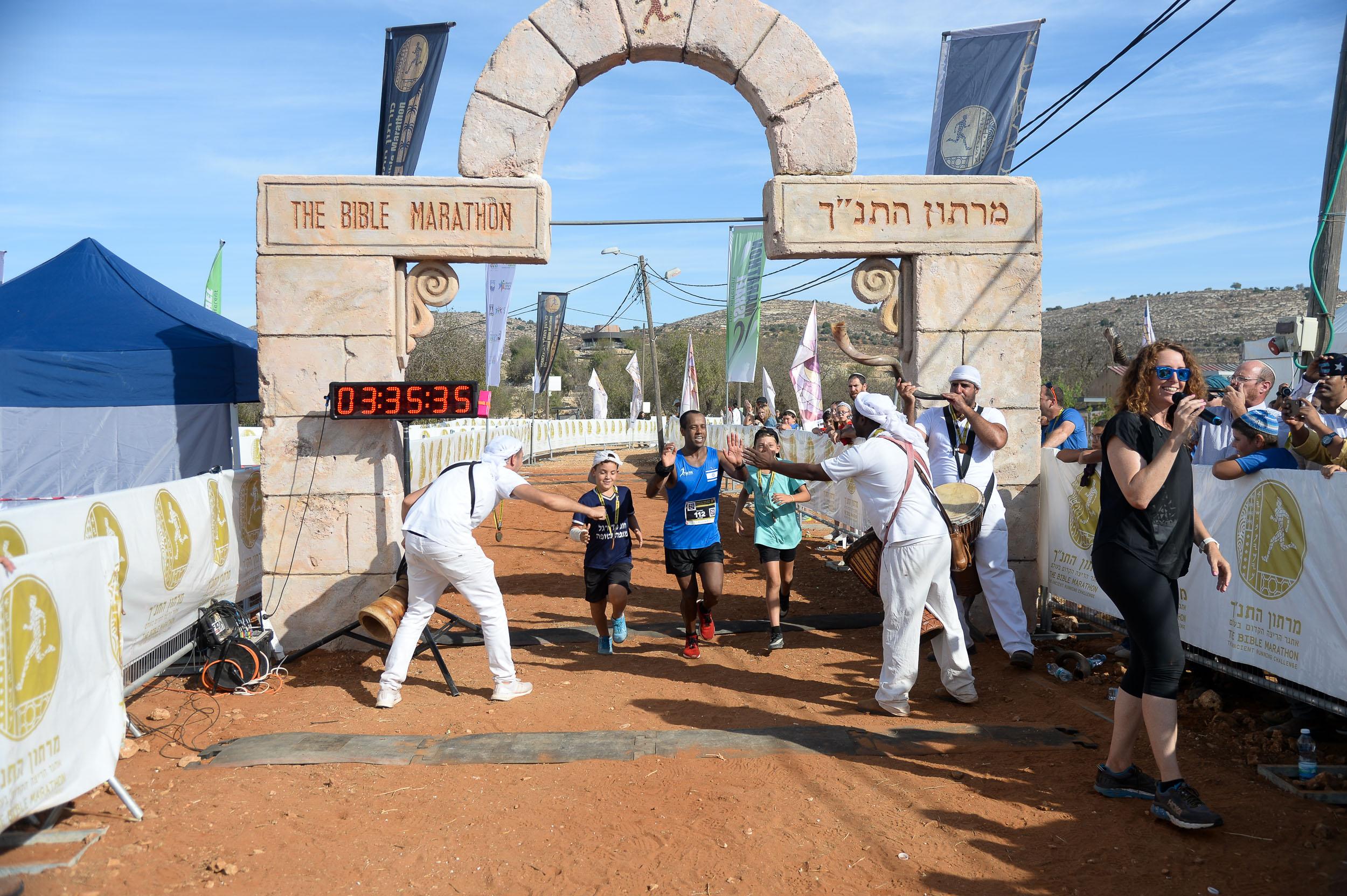 """היכון, הכן, צא! מרתון התנ""""ך הבינלאומי בשילה הקדומה"""