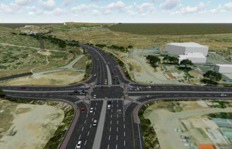 החלו העבודות לסלילת כביש עוקף אל-ערוב