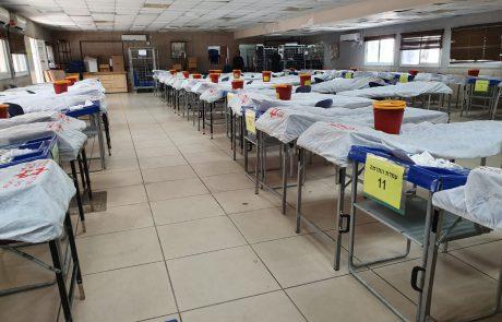 """היום: מד""""א בשיתוף החטיבה המרחבית שומרון בצה""""ל נערכים לשבור את שיא התרמת הדם"""