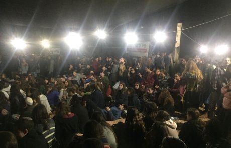לקראת הפינוי: למעלה מ-1000 איש הגיעו לנתיב האבות