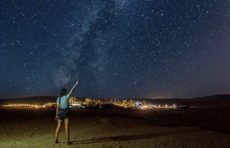 """פסטיבל המטאורים """"נוקדים עם כוכבים"""" יתקיים כמתוכנן"""