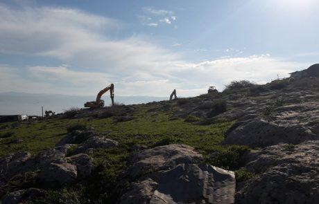החל פרויקט הוספת קו מים עוקף ברדלה בצפון בקעת הירדן