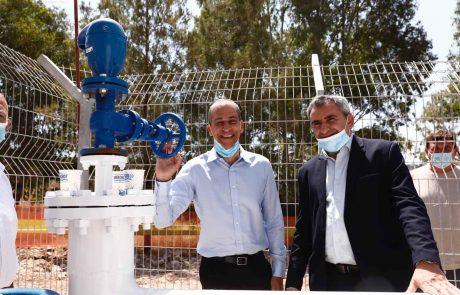 לראשונה: חברת 'מקורות' מחברת את יהודה ושומרון למערכת המים הארצית