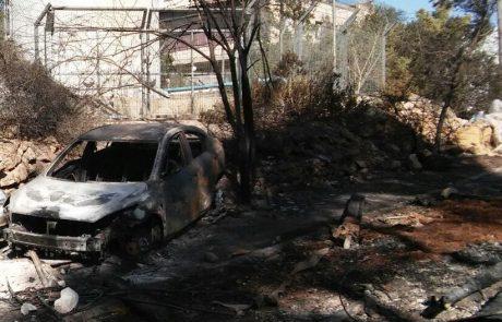 החטיבה להתיישבות הציבה קרוואנים למשפחות נווה צוף שביתם נשרף