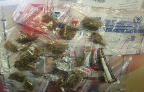שני סוחרי סמים נתפסו בחשמונאים