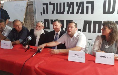 """יור הכנסת באוהל המחאה: """"בממשלה יש פער בין הבטחות שניתנות לבין המציאות"""""""