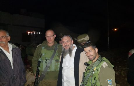 כניסה יהודית גלויה לבית צור שבשליטה פלסטינית
