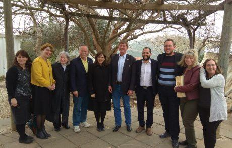 """חוטובלי לחברי קונגרס בשומרון: """"מתרגשים לקראת היום הגדול – העברת השגרירות לירושלים"""""""