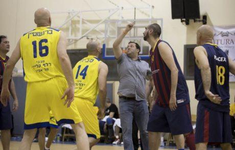 לראשונה: משחק כדורסל בינלאומי בשומרון