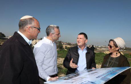 """יו""""ר הכנסת אדלשטיין בסיור עם ראשי מועצת יש""""ע בבית אל: """"350 יחידות הדיור החדשות בבית אל הן לא מאבק נגד – אלא מאבק בעד"""""""