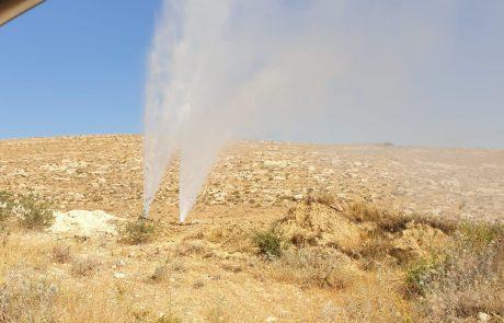 טרור המים מכה: אין מים באביגיל