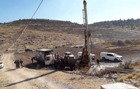 32 חשודים נעצרו בחשד לגניבות מים באזור חברון