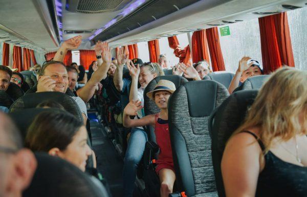 לראשונה בשומרון: הבוקר הושק קו אוטובוס בשבת מאריאל לתל אביב