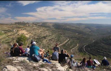 שיא של תיירות בבנימין: למעלה מ-800 אלף מטיילים ביקרו בשנה החולפת באתרים שונים בחבל בנימין