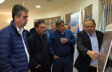 אזור תעשייה חדש במעבר תרקומיה משותף למועצות הר חברון, מטה יהודה ולכיש יוצא לדרך