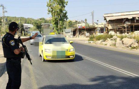 משטרת התנועה ביצעה מבצע אכיפה ממוקד בכבישים אדומים באזור גוש עציון